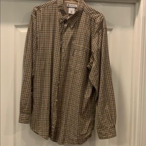 Columbia Long Sleeve Cotton Shirt XL